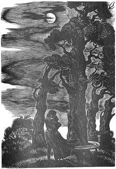 Wuthering Heights illustration by Fritz Eichenberg