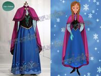Frozen (Disney Movie) Cosplay Anna Costume Outfit(C00492)