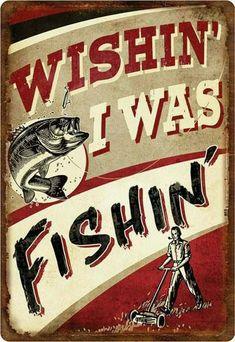 wishing i was fishin #JustFishing