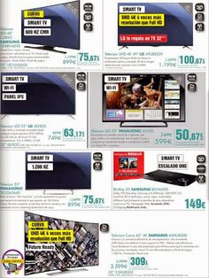 Ofertas de Televisores de El Corte Ingles / hasta el 20 noviembre 2014