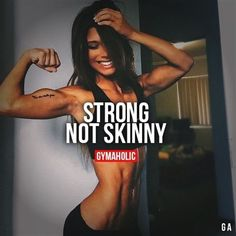 I'm not trying to be skinny, dainty, thin. I don't want a smaller ass or a thinner thighs. God blessed me with an abundance in both areas and I celebrate it! I'm building them both up even bigger! Cause I'm a strong woman. Fitness Workouts, Fitness Facts, Fun Workouts, Fitness Tips, Health Fitness, Workout Diet, Cardio Diet, Easy Fitness, Sport Motivation