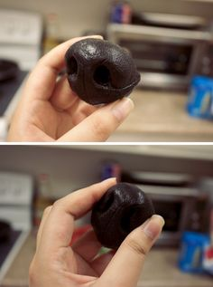 New canine nose (silicone) by yeep-yeep