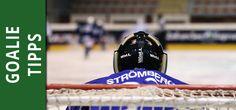 Tipps für Eishockey-Goalies.