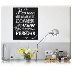 Adesivo de Cartaz de Lousa - MELHORES PESSOAS