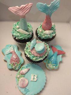 mermaid cupcake Mermaid Cupcakes, Facebook Sign Up