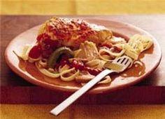 Easy Slow Cooker Chicken Cacciatore