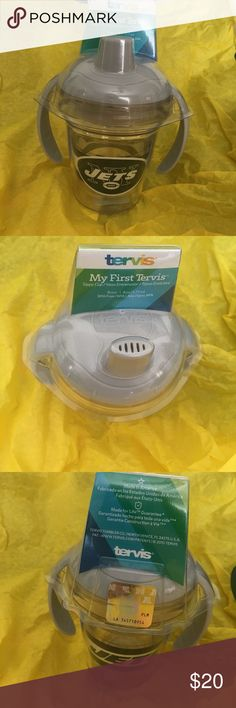 ✂️ NFL NY Jets sippy cup, Brand New! Brand new, never opened NFL Jets sippy cup.  9mo+. 6 oz.  BPA free. Other