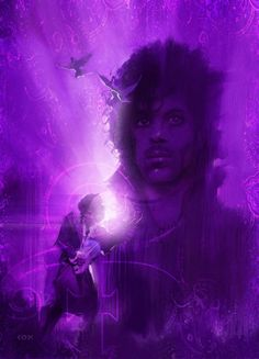 Prince Tribute by Daniel Cox Pictures Of Prince, Prince Purple Rain, Paisley Park, Dearly Beloved, Roger Nelson, Prince Rogers Nelson, Purple Reign, Foto Art, Word Pictures