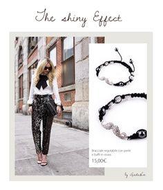 Che dire!Un outfit Abbagliante! http://www.giadaandco.com/bracciali/bracciale-regolabile-perle-strass #shiny #strass #moustache #bracelet