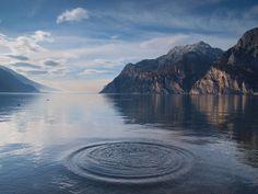 Lake Garda in Trentino, Italy