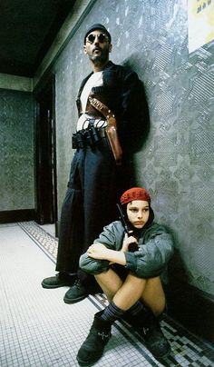 Mathilda et Leon. I love this movie.