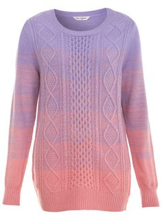 Ombre Cable Jumper