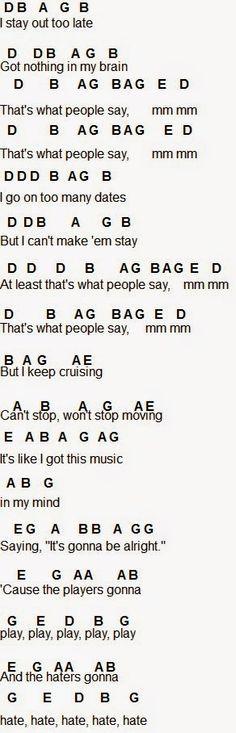 Flute Sheet Music: Shake It Off