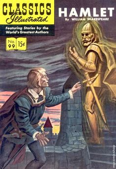 Classics Illustrated Hamlet- I have this comic actually.