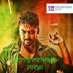 DrushyamMedia Wishing a Very Happy Birthday to #Surya