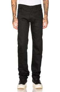 Shop for Song for the Mute Cotton Neoprene Slim Track Pants in Black at FWRD.