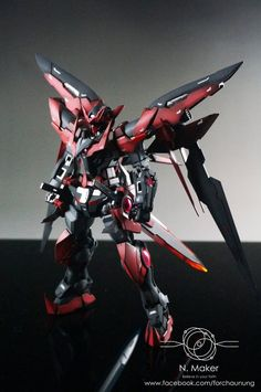 MG 1/100 Gundam Exia Dark Matter - Painted Build     Modeled by N.Maker