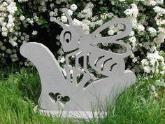 Ella - Die Biene Flat Stone, Special Gifts, Gift Wedding, Bees, Stones, Birthday, Lawn And Garden