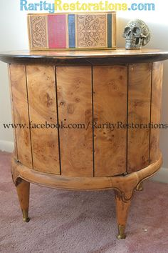 Weiman burled walnut table Walnut Table, Rarity, Buffet, Restoration, Cabinet, Storage, Furniture, Home Decor, Clothes Stand