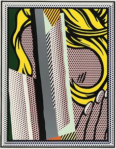 """Roy Lichtenstein """"Reflections on Hair"""""""