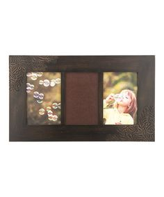 Take a look at this Espresso Perry Vine Triple Picture Frame by Prinz on #zulily today!