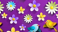Flowers And Birds – Saturday's Free Daily Jigsaw Puzzle