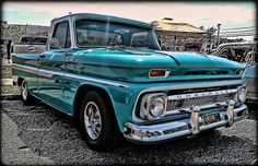 '65 Chevy Truck - I love that color!