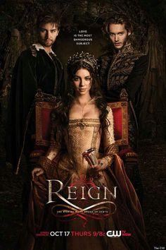 Reign - Thursdays on the CW - NOT historically accurate but it's so FUN to watch!!!