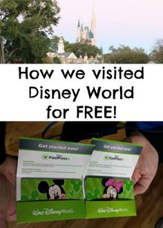 How to get free Disney World tickets