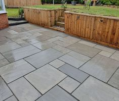 Our Kandla Grey Sandstone is the perfect Indian Stone Paving for any traditional patio. Sandstone Paving, Paving Slabs, Paving Stones, Patio Kits, Patio Ideas, Garden Ideas, Patio Stairs, Patio Deck Designs, Bluestone Patio