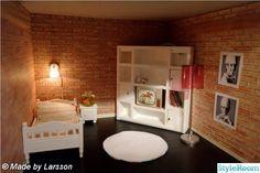 Project renovation Lundby dollhouse - An interior album on StyleRoom