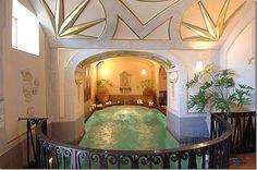 Indoor Pool - Infinity Amalfi Coast by Giuseppe Palumbo - Exclusive Property Services Villa Positano Amalfi Coast Positano, Positano Italy, Villa Positano, Palazzo, Jacuzzi, Villas, Baroque, Altar, Style Villa