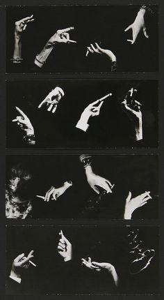 Pierre Gassmann | Hommage à  Man Ray, Mains à la cigarette, ca. 1940