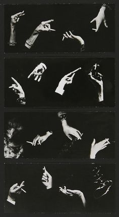 Man Ray Hands montage