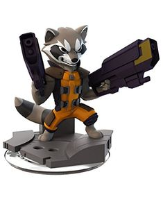 Disney Infinity 2.0 Marvel Rocket Raccoon Figure @ niftywarehouse.com