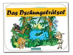 Wie wäre es mit einer #Schnitzeljagd im tiefsten Urwald und mit wilden Tieren? Zu dieser Idee für #Kindergeburtstage oder andere Kinderfeste kann man die #Kinder auch gut verkleiden, z.B. als Löwe oder Tiger