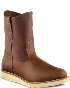 pull-on boot (i think i want these for winter + i don't care that they're for men) : red wing
