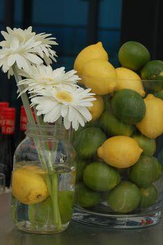 citron/lime/fleur /Cocktail Norton Rose