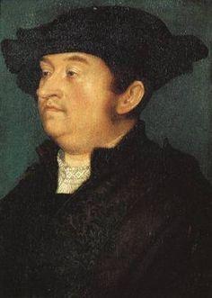 Unknown man c.1518-1520, Hans Holbein the Elder.  http://www.museothyssen.org/en/thyssen/ficha_obra/311