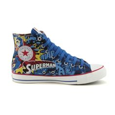 d7b46b85b9a948 Shop for Converse All Star Hi Superman Athletic Shoe in Superman at  Journeys Shoes. I