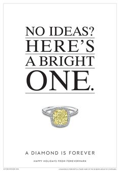 Drop a hint this holiday to make sure you receive a gift you love, like this fancy yellow diamond ring with pavé band. #HintHint Happy Holidays from Forevermark #ADiamondIsForever
