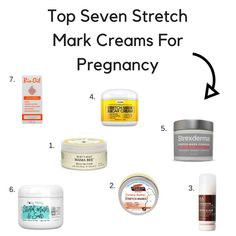 Click to learn about the best creams for stretch marks!
