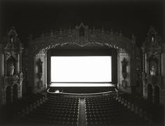 Cinema screen which will be a part of the front cover of my magazine