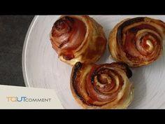 Pour l'apéritif, réalisez de délicieux roulés au bacon et à la tomate - La Recette