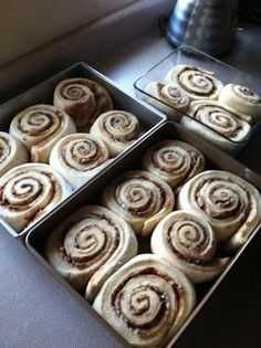 Made It. Ate It. Loved It.: 24-Hour Cinnamon Rolls /// So much easier then PW's so of course I will have to try these.