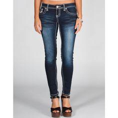 AMETHYST JEANS Series 31 Short Length Women's Skinny Jeans