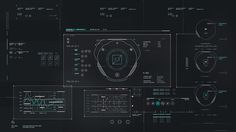 UI from Avengers Age of Ultron #UI #FUI #regime . Saving for the line chart in lower left which apparently uses overlaid thick horizontal lines to indicate segments of interest; one set of lines is in the chart, another set is in the upper and lower horizontal framing lines