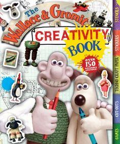 This is the ultimate activity book for all young Wallace and Gromit fans! It is packed with stickers, stencils, pull-out craft paper, make-and-do activities, games, puzzles, drawing, doodling, colouring and more! It includes fun activities based on the characters from West Wallaby Street and their grand adventures and glorious inventions £9.99