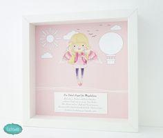 Geschenk zur Einschulung, Geschenke für den Schulbeginn, Schul-Engel für Mädchen in rosa 1