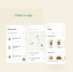 Redesign of the Starbucks mobile app by Daniel Tan and Daphnie Loong. Combo Duo of two creative directors based in Kuala Lumpur, Malaysia. Best Ui Design, App Ui Design, User Interface Design, Web Design, Graphic Design, App Map, How To Order Starbucks, Mobile Ui Design, Mobile App Ui